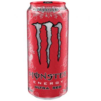 Grosspackung  Monster Energy Ultra Red (12 x 0,5 Liter Dosen) = 6 Liter