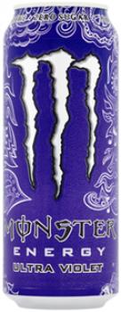 Grosspackung  Monster Energy Ultra Violet (12 x 0,5 Liter Dosen) = 6 Liter