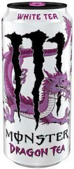 USA Import Grosspackung Monster White Tea Dragon Tea (12 x 0,458 Liter Dosen) = 5.496 Liter