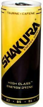 Grosspackung Shakura Energy Drink (24 x 0,25 Liter Dosen) = 6 Liter