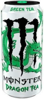 USA Import Grosspackung Monster Green Tea Dragon Tea (12 x 0,458 Liter Dosen) = 5.496 Liter