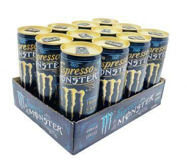 Grosspackung Monster Vanilla Espresso (12 x 0,25 Liter Dosen) = 3 Liter
