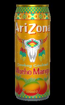 Grosspackung Arizona Cowboy Cocktail Mucho Mango (12 x 0,5 Liter Dosen NL) = 6 Liter