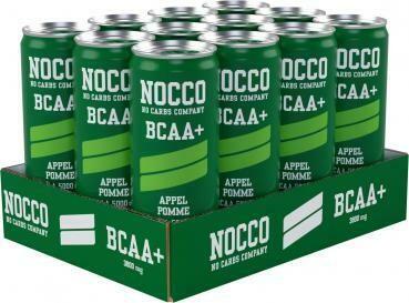 Grosspackung Nocco Apple BCAA Energy Drink (12 x 0,25 Liter Dosen SE) = 3 Liter