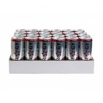 Grosspackung Slammers Energy Drink (24 x 0,25 Liter Dosen NL) = 6 Liter