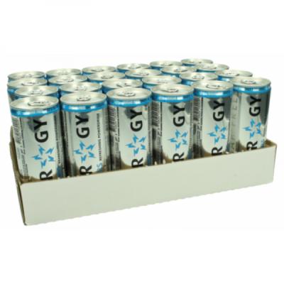 Grosspackung Slammers Sugar Free Energy Drink (24 x 0,25 Liter Dosen NL)= 6 Liter