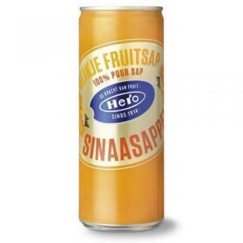 Grosspackung Hero Sinaasappel / Orange (24 x 0,25 Liter Dosen NL)= 6 Liter