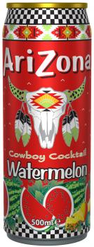 Grosspackung Arizona Cowboy Cocktail Watermelon (12 x 0,5 Liter Dosen NL) = 6 Liter