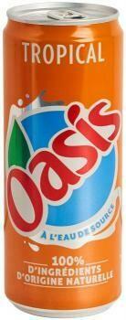 Grosspackung Oasis Tropical (24 x 0,33 Liter Dosen BE) = 7,92 Liter