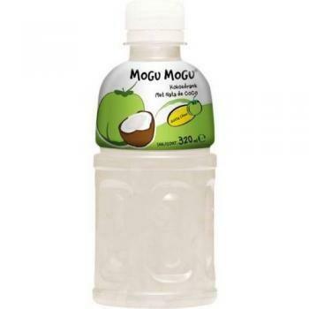 Grosspackung Mogu Mogu nata de coco Kokosnuss (24 x 0,32 Liter PET-Flasche) = 7,68 Liter Thailand