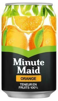 Grosspackung Minute Maid Orange (24 x 0,33 Liter Dosen FR) = 7,92 Liter