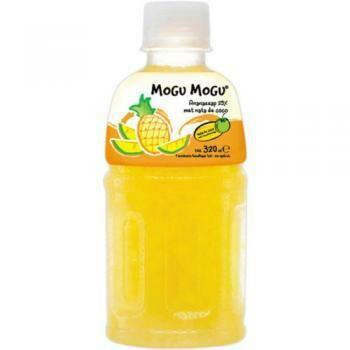 Grosspackung Mogu Mogu nata de coco Ananas (24 x 0,32 Liter PET-Flasche) = 7,68 Liter Thailand