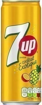 Grosspackung 7-Up Cocktail Exotique (24 x 0,33 Liter Dosen FR) = 7,92 Liter