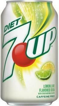 USA Import Grosspackung 7-Up USA Diet (12 x 0,355 Liter Dosen) = 4,2 Liter