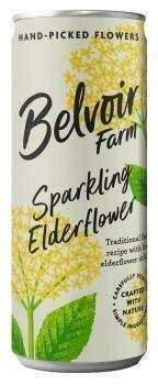 Grosspackung Belvoir Elderflower Pressé (12 x 0,25 Liter Dosen GB) = 3 Liter