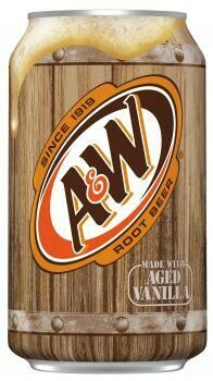 USA Import Grosspackung A&W USA Root Beer (12 x 0,355 Liter Dosen) = 4,2 Liter