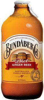 Grosspackung Bundaberg Ginger Beer (12 x 0,375 Liter Flaschen) = 4,5 Liter