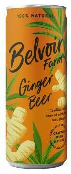 Grosspackung Belvoir Ginger Beer Pressé (12 x 0,25 Liter Dosen GB) = 3 Liter