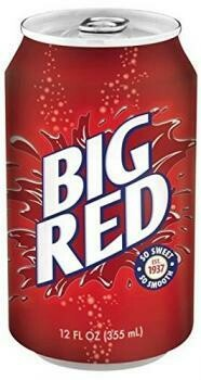 USA Import Grosspackung Big Red USA Soda (12 x 0,355 Liter Dosen) = 4,26 Liter