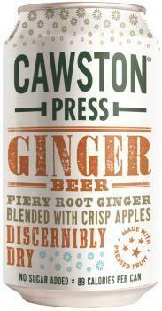 Grosspackung Cawston Press Ginger Beer (24 x 0,33 Liter Dosen GB) = 7,92 Liter