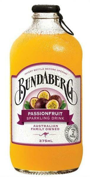 Grosspackung Bundaberg Passionfruit (12 x 0,375 Liter Flaschen) = 4,5 Liter