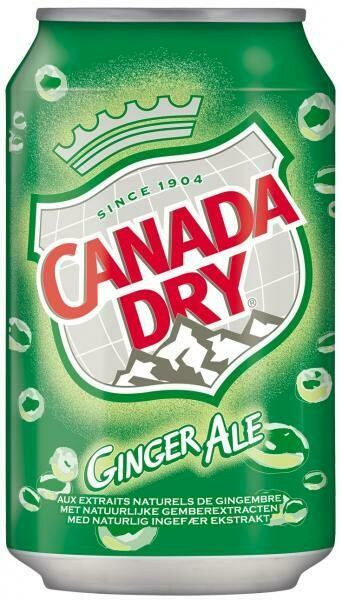 Grosspackung Canada Dry Ginger Ale (24 x 0,33 Liter Dosen BE) = 7,92 Liter