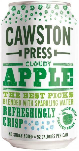 Grosspackung Cawston Press Apple & Rhubarb (24 x 0,33 Liter Dosen GB) = 7,92 Liter