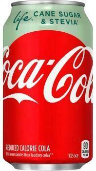 USA Import Grosspackung  Coca Cola Life (12 x 0,355 Liter Dosen) = 4,26 Liter