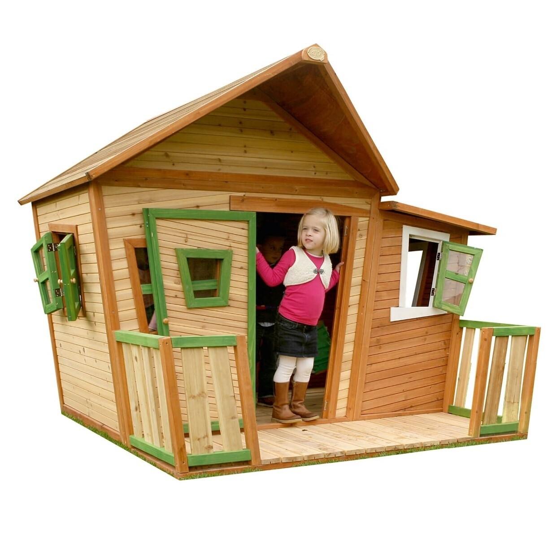 AXI Lisa Spielhaus aus Holz, 174 x 180 x 167 cm, natur