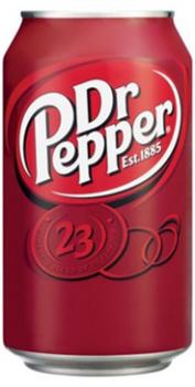USA Import Grosspackung  Dr. Pepper USA (12 x 0,355 Liter Dosen) = 4,26 Liter