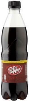 Grosspackung  Dr. Pepper (24 x 0,5 Liter PET-Flaschen NL) = 12 Liter