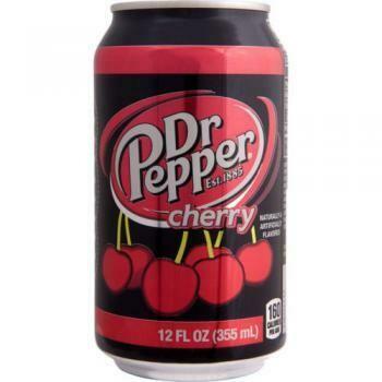 USA Import Grosspackung  Dr. Pepper Cherry (12 x 0,355 Liter Dosen)= 4,26 Liter