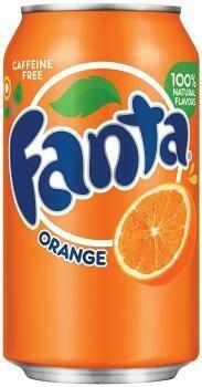 Grosspackung Fanta USA Import Orange (12 x 0,355 Liter Dosen) = 4,26 Liter