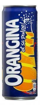 Grosspackung Orangina (24 x 0,33 Liter Dosen BE) = 7,92 Liter