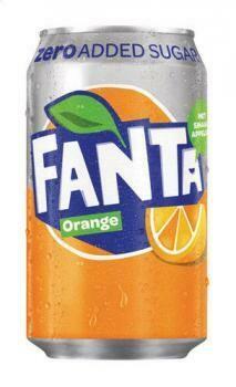 Grosspackung Fanta Orange Zero (24 x 0,33 Liter Dosen DK) = 7,92 Liter