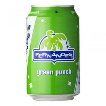 Grosspackung Fernandes Green Punch (12 x 0,33 Liter Dosen NL) = 3,96 Liter