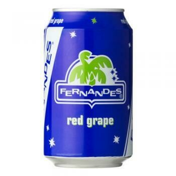 Grosspackung Fernandes Red Grape (12 x 0,33 Liter Dosen NL) = 3,96 Liter