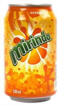 Grosspackung Mirinda Orange (24 x 0,33 Liter Dosen DE) = 7,92 Liter