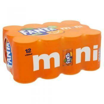 Grosspackung Fanta Orange Mini (24 x 0,15 Liter Dosen NL) = 3,6 Liter