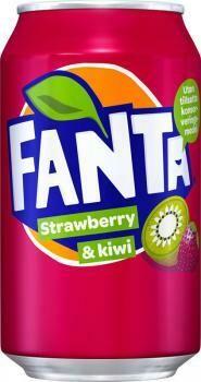Grosspackung Fanta Strawberry & Kiwi (24 x 0,33 Liter Dosen DK) = 7,92 Liter