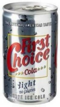 Grosspackung First Choice Cola Light Mini (24 x 0,15 Liter Dosen NL) = 3,6 Liter