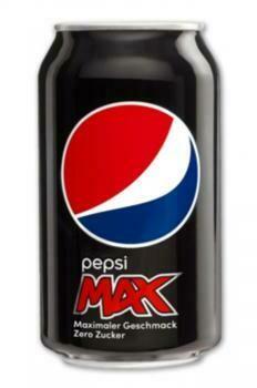 Grosspackung Pepsi Cola Max (24 x 0,33 Liter Dosen DE) = 7,92 Liter