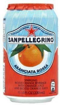 Grosspackung  San Pellegrino Aranciata Rossa (24 x 0,33 Liter Dosen NL)= 7,92 Liter