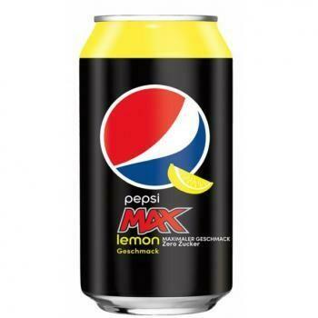 Grosspackung Pepsi Cola Max Lemon (24 x 0,33 Liter Dosen DE) = 7,92 Liter