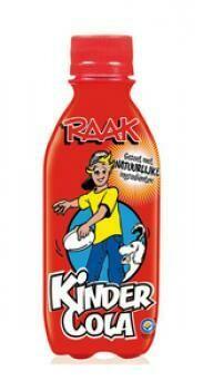 Grosspackung  Raak Kindercola (24 x 0,25 Liter PET-Flaschen NL) = 6 Liter