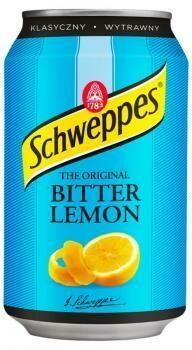 Grosspackung  Schweppes Bitter Lemon (24 x 0,33 Liter Dosen PL) = 7,92 Liter