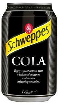 Grosspackung  Schweppes Cola (24 x 0,33 Liter Dosen PL) = 7,92 Liter