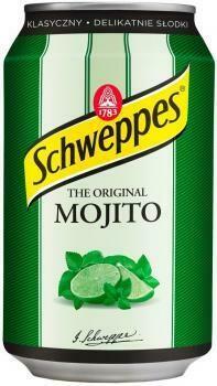 Grosspackung  Schweppes Mojito (24 x 0,33 Liter Dosen PL) = 7,92 Liter