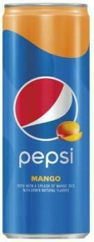 Grosspackung Pepsi USA Import Mango (8 x 0,355 Liter Dosen) = 2,84 Liter