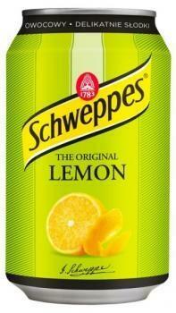 Grosspackung  Schweppes Lemon (24 x 0,33 Liter Dosen PL) = 7,92 Liter
